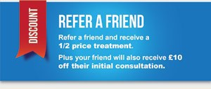 prices refer a friend Hove